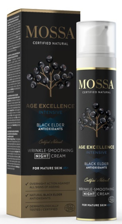 Mossa Age Excellence Intensive Wrinkle Smoothing Night Cream 50ml thumbnail